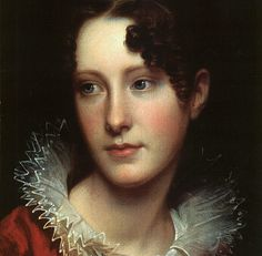 Rembrandt Peale, Portrait of Rosalba Peale (1820) – artist's daughter Smithsonian Institute, Washington. DC