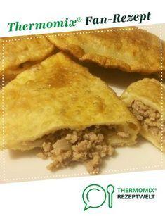 Tschebureki von TastyTM. Ein Thermomix ® Rezept aus der Kategorie Hauptgerichte mit Fleisch auf www.rezeptwelt.de, der Thermomix ® Community.