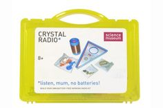 Halsall Science Museum - Crystal Radio In Case Science Museum - Crystal Radio In Case, Halsall toy / game (Barcode EAN = 5050841081916). http://www.comparestoreprices.co.uk/science-and-discovery-toys/halsall-science-museum--crystal-radio-in-case.asp