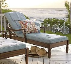 Wood Outdoor Furniture & Eucalyptus Patio Furniture | Pottery Barn