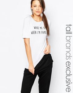 One+Day+Tall+'When+Im+Famous'+Motif+Tee
