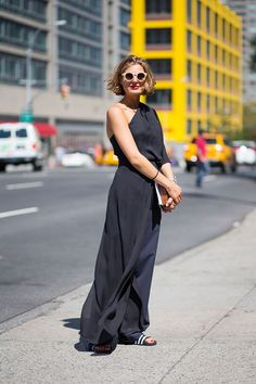 a black maxi for day