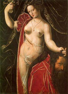 Judith with the Head of Holofernes Ambrosius Benson, c. 1530