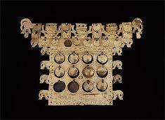 SICÁN-LAMBAYEQUE culture North coast 750 – 1375 AD Pectoral 900-1100 AD gold