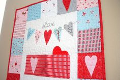 Valentines Projects - Diary of a Quilter - a quilt blog
