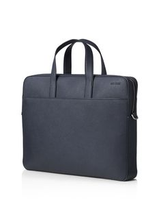 Jack Spade Barrow Leather Slim Briefcase