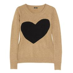 this jcrew sweater is so cute.  too bad its sold out now that sweaters are on sale today