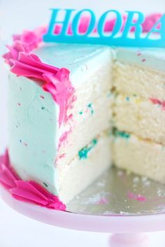 The best homemade white cake around, if you ask me, and I use it as a base for countless cake recipes now: