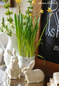 Dear Lillie: Reader Chalkboards, Another Easter Chalkboard Download and a Peek at Our New Chairs