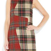 Rag & Bone was one of the lines that lead this fashion trend in Fashion Week F/W 2011. The Saami plaid wool shift is available from Net-a-Po...