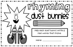 Rhyming Dust Bunnies Book