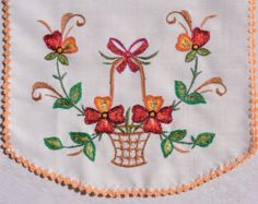 Embroidered napkins set of 6 by CuteEmbroideries on Etsy