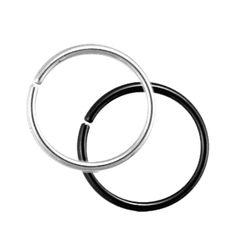 """Seamless Steel Segment rings (STEEL 16 gauge (3/8""""))"""