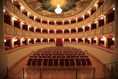 Teatro di Porto San Giorgio by Un fotografo italiano, via Flickr