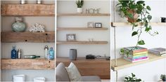 Estanterías DIY para tu hogar House Interior, Home Diy, Diy Interior, Interior, Interior Walls, Home Decor, Home Bedroom, Colorful Interiors, Diy On A Budget