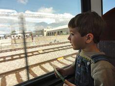 Riding the MetroRail to Downtown Austin