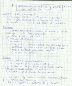CANELONES DE VERDURA Y RICOTA CON SALSA DE BROCOLI   #SALADO #PLATOS #PASTA #VERDURAS