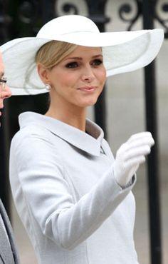 Les coiffures de la princesse Charlène de Monaco