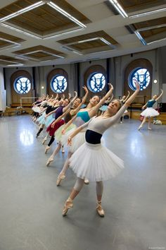 kameliendame: Dancers of the Paris Opera Ballet in rehearsal for Paquita ph. Laurent Philippe