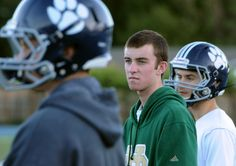 State championship football: Role of team chaplain helps Marin Catholic player contribute after heart problem put him on the sideline - Marin Independent Journal