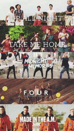 One Direction lockscreen videoclipes! One Direction Lyrics, One Direction Fotos, One Direction Albums, One Direction Background, Four One Direction, One Direction Lockscreen, One Direction Drawings, One Direction Posters, One Direction Images