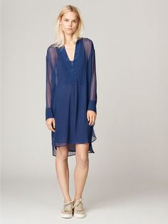 Austa Silk Dress