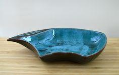 Vintage Blue Mountain Pottery Atomic Bowl