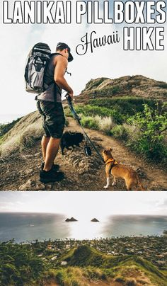 Our favorite hike on Oahu, Hawaii! Lanikai pillboxes hike. Great for families! - Hawaii Travel Tips, Hiking Hawaii, Things to do Hawaii   Wanderlustyle.com