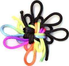 Octagonal (8 sided) good luck knot - spell weaving?