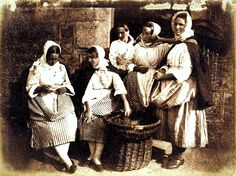 David Hill & Robert Adamson1 Five Newhaven Fisherwomen, circa 1844