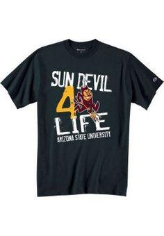 Sun Devil For Life Arizona State University, Football, Baseball, 4 Life, Dress Codes, Fork, Devil, Graduation, Pride