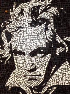 Beethoven Mosaic Portrait - Scott Rockland