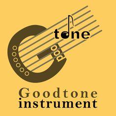 Logo design practice for a fictional company: Goodtone instrument