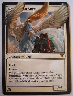 Restoration Angel - Magic the Gathering