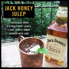 If April showers bring May flowers, June heat brings July juleps #SummerSwarm #PhotoContest #CocktailRecipes #Drinks #JackDaniels