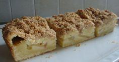 Appel-kruimel cake Tasty, Yummy Food, Dutch Recipes, Snack Bar, Grocery Store, Tiramisu, Sweets, Snacks, Ethnic Recipes