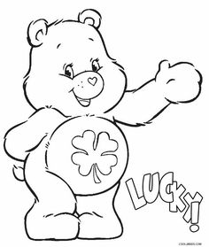 Printable Care Bears Coloring Pages For Kids