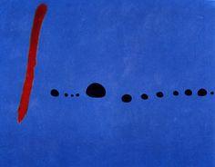 Joan Miró - Blue II