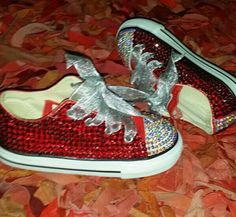 Bedazzled converses