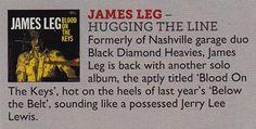 James Leg on the Vive Le Rock CD Mount