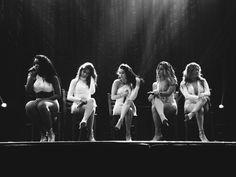 Normani,Camila,Lauren,Dinah & Ally