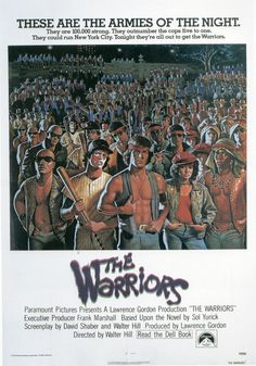 The Warriors, Walter Hill, 1979