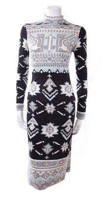 1970's Leonard dress.