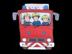 Traktatie Brandweerman Sam - Traktatiebakje auto