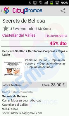 Ejemplos de ofertas en Citypromos - Castellar del Vallès