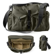 The new Filson Magnum Photography Bags