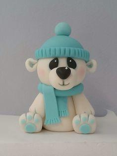 teddy bear fondant