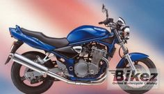 2001 Suzuki GSF 600 Bandit specifications and pictures