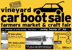 *** INDOOR CAR BOOT SALE, Farmers Market & Craft Fair *** COLERAINE - every 3rd Saturday each month