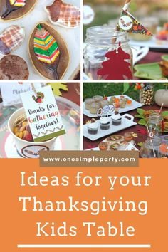 Setting up a Thanksgiving kids table this holiday? Check out these beautiful nature inspired Thanksgiving kids table ideas complete with free printables. #thanksgivingkidstable #thanksgivingkidstabledecorations #thanksgivingkidstableideas
